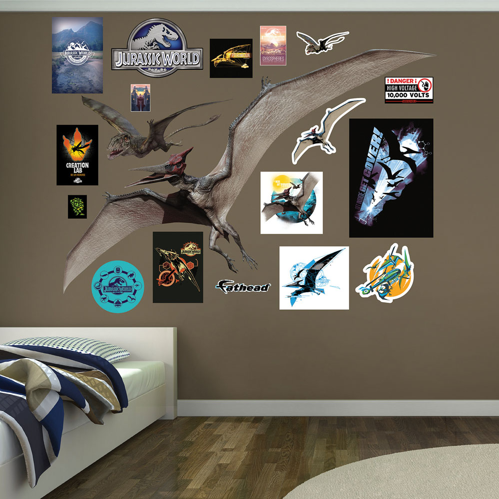 Pteranodon Dimorphodon Jurassic World Decals