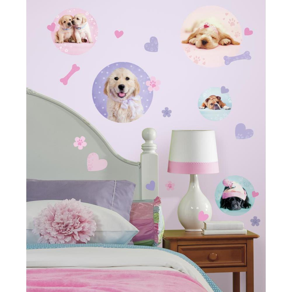 Puppy Spots Peel And Stick Decal