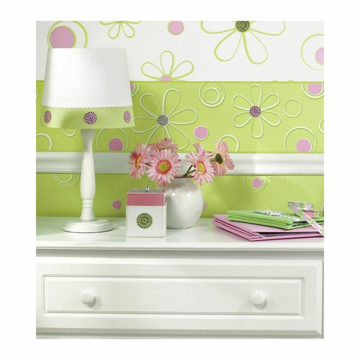 Razzle Dazzle Green-Pink Wall Charms
