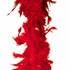 Red Feather Boa (6' 35 grams)