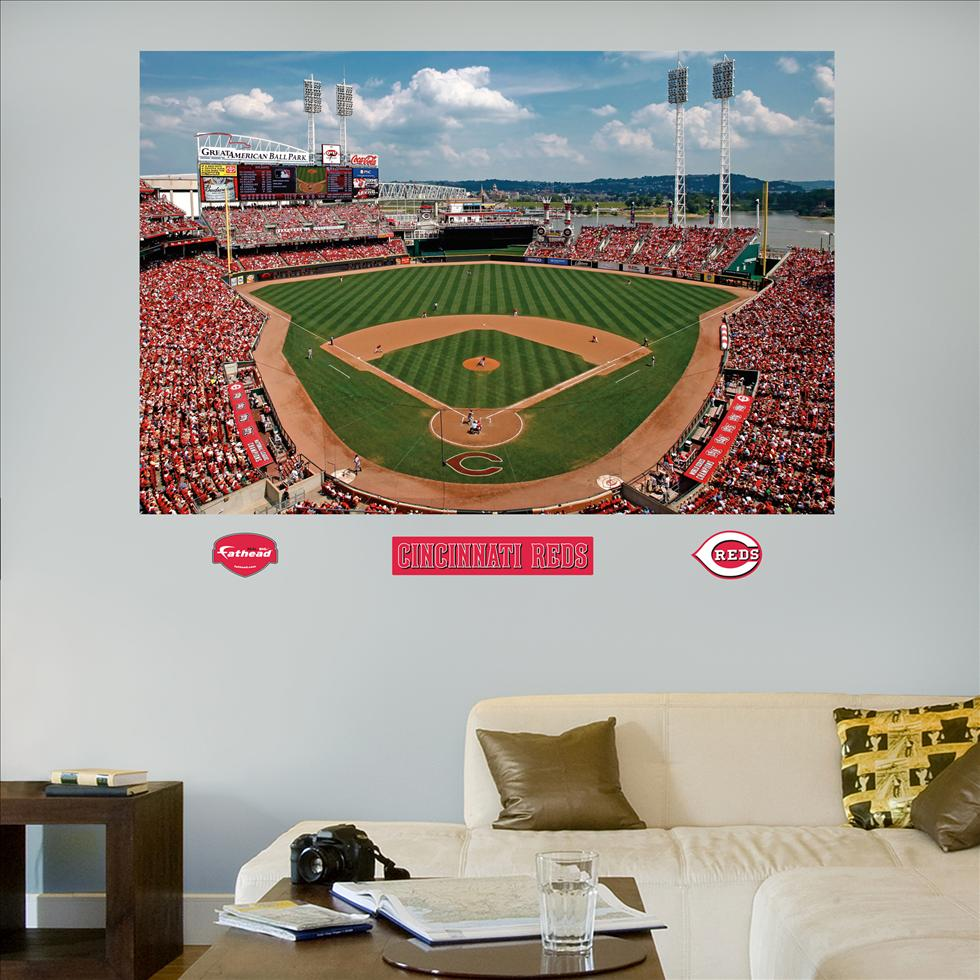 Reds Great American Ball Park Mural-Fathead