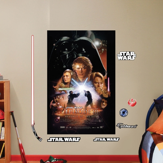 Revenge of the Sith: Movie Poster Mural