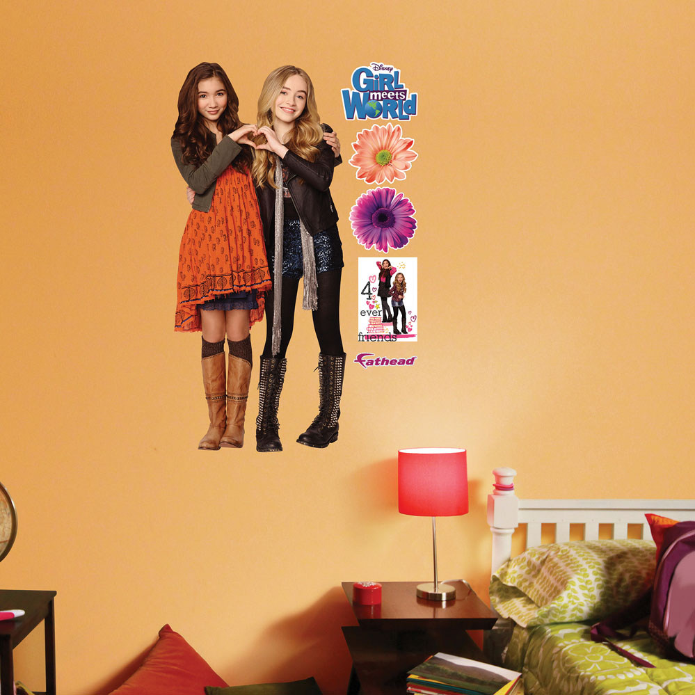 Riley And Maya JUNIOR Wall Decal