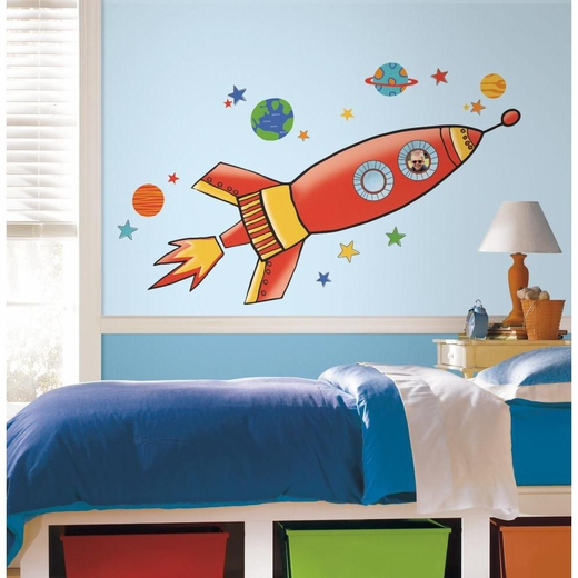 Rocket Giant Decal