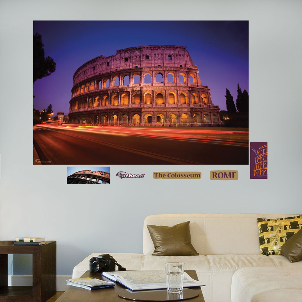 Roman Coliseum Mural REALBIG Wall Decal