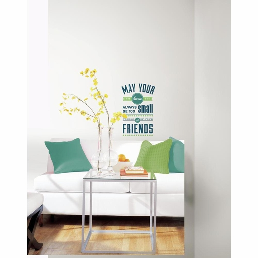 Room for Friends Decal
