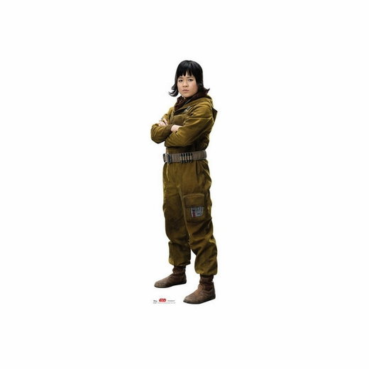 Rose Star Wars 8 The Last Jedi Cardboard Cutout