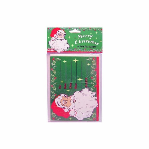 Santa Claus Invitations