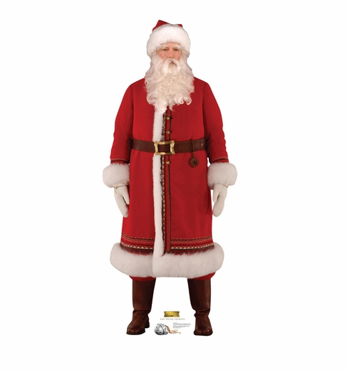 Santa The Polar Express Cardboard Cutout