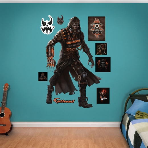 Scarecrow Arkham Knight Fathead Wall Decals