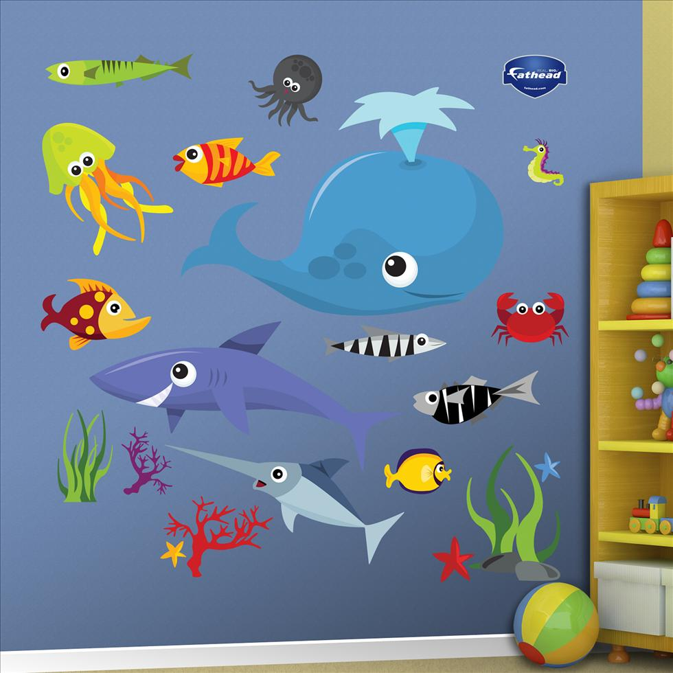 Sea Creatures Group Two-Fathead