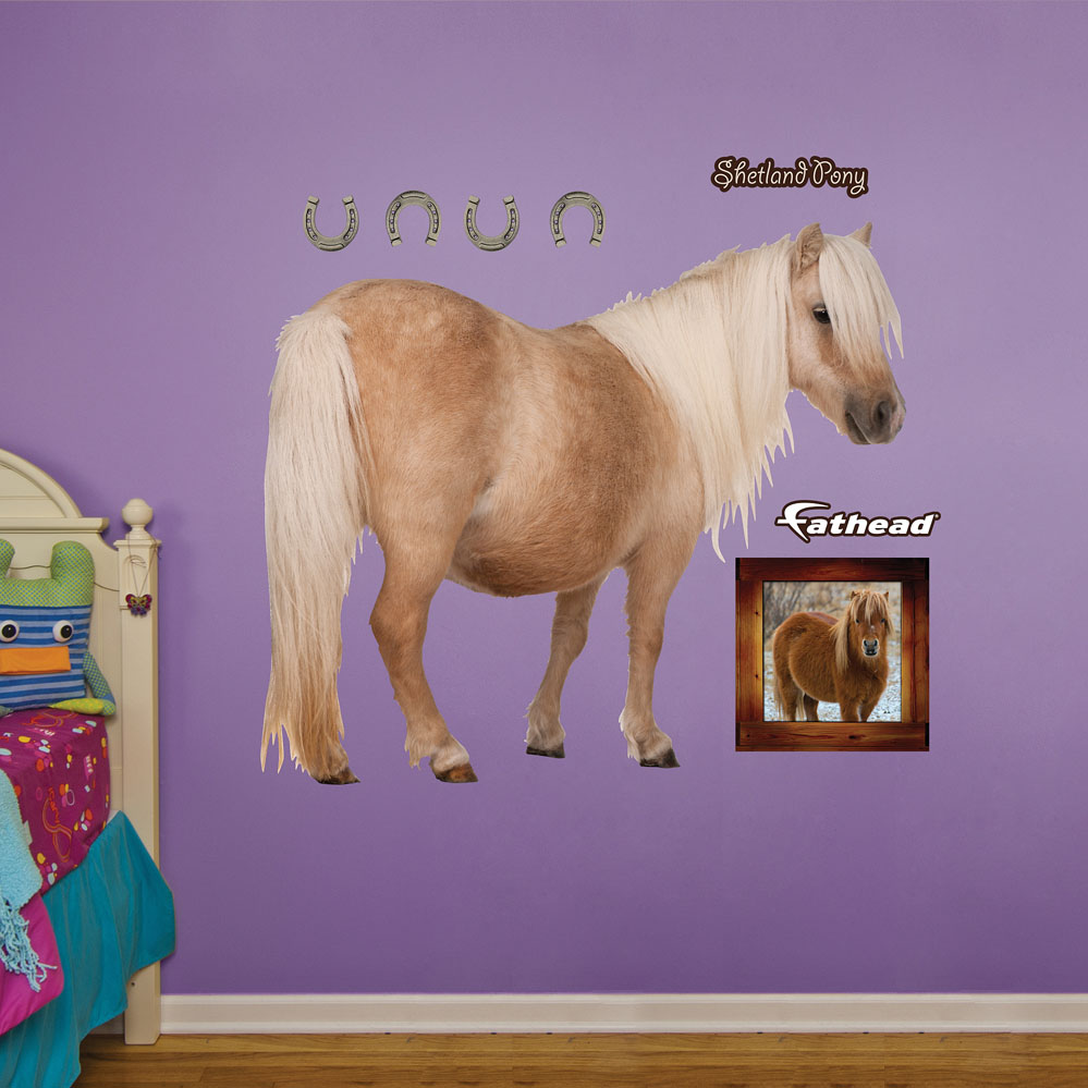 Shetland Pony REALBIG Wall Decal