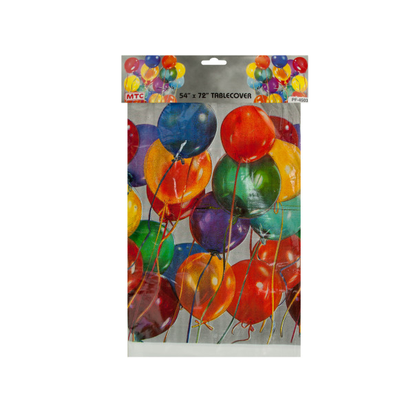 Shiny Balloon Table Cover