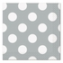 Silver Decorative Dots Lunch Napkins