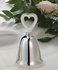 Silver-Plated Wedding Bell Favors
