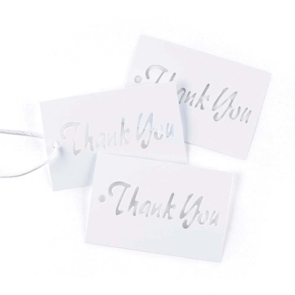 Simple Thank You Favor Cards