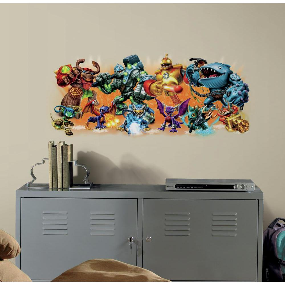 Skylander Giants Burst Decal