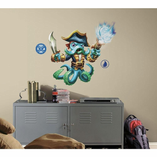 Skylanders SWAP Force Wash Buckler Giant Decal