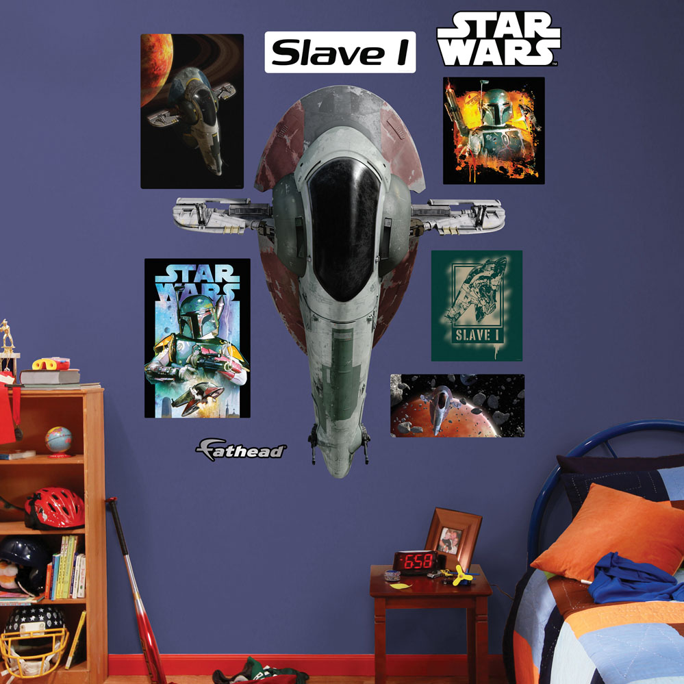 Slave I REALBIG Wall Decal