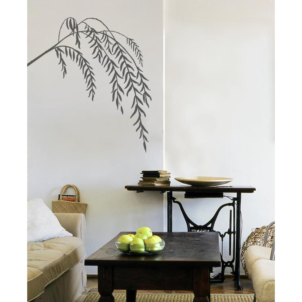 Slender Willow Transfer Decal