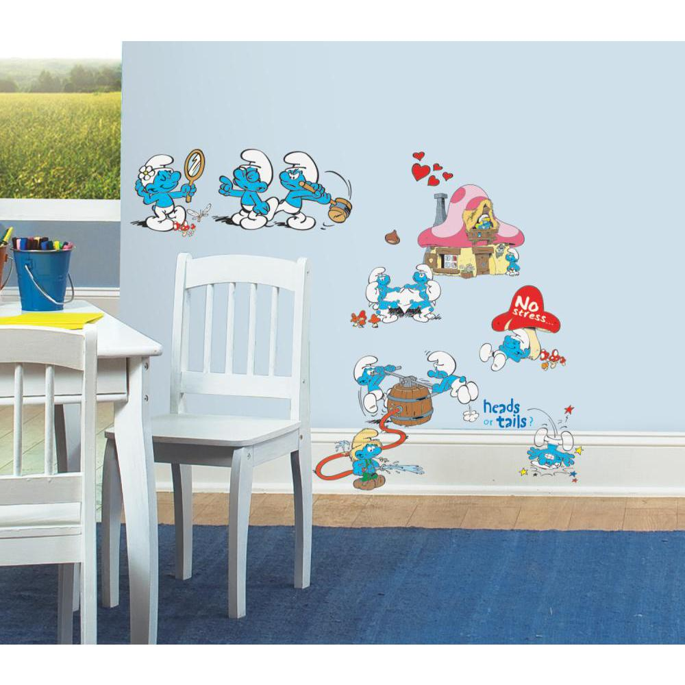Smurfs Classic Peel And Stick Decal