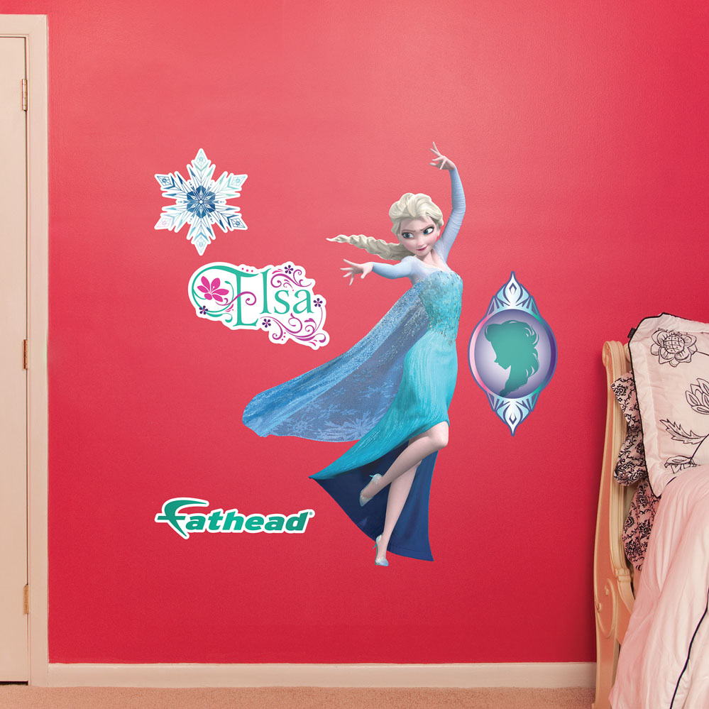 Snow Queen Elsa JUNIOR Wall Decal