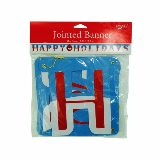 Snowman Jointed Banner