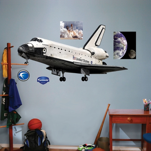 Space Shuttle Endeavor REALBIG Wall Decal