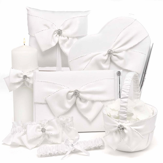 Sparkling Sash Collection - Traditional Guestbook