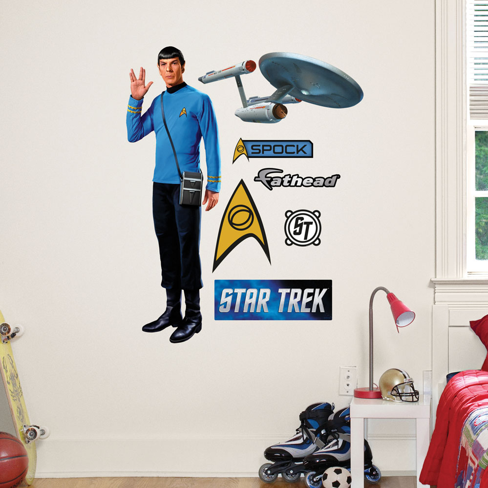Spock Fathead JUNIOR Wall Decal