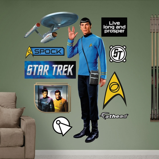 Spock REALBIG Wall Decal