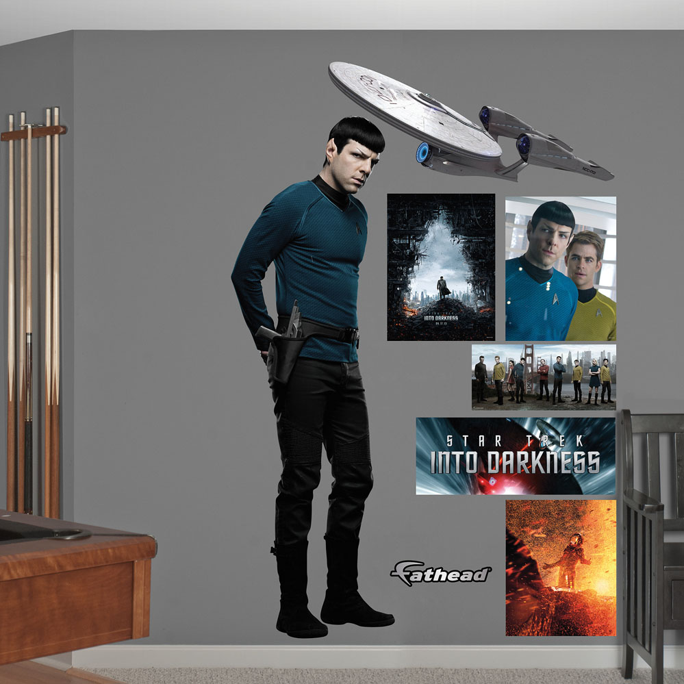 Spock: Star Trek Into Darkness Wall Decal