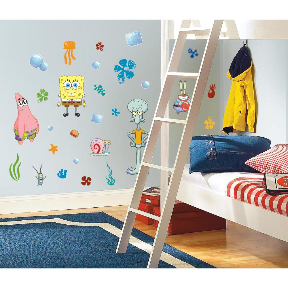 Spongebob Squarepants Peel And Stick Decal