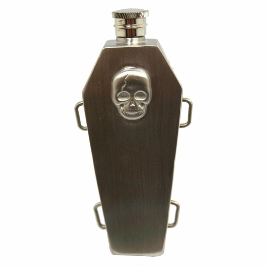 Stainless Steel Coffin Flask