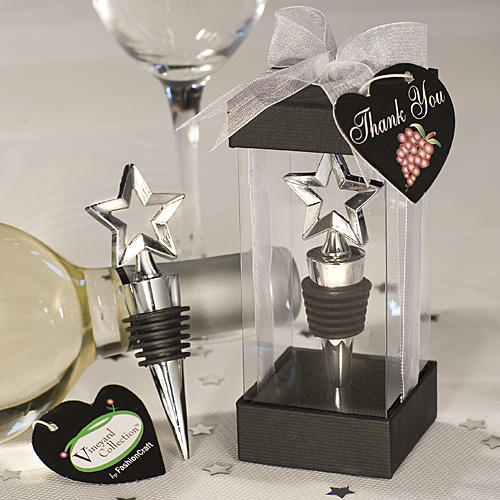 Star Design Wine Stoppers