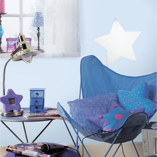Star Peel And Stick Mirror (Large)