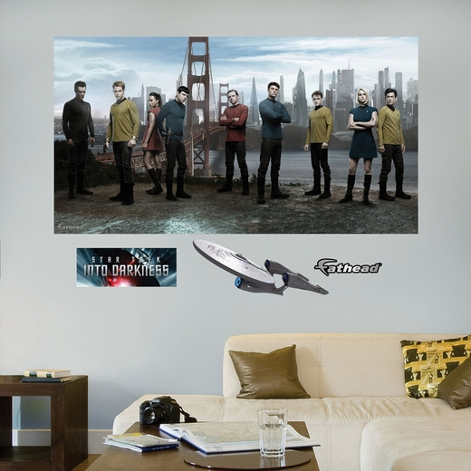 Star Trek Into Darkness Mural REALBIG Wall Decal