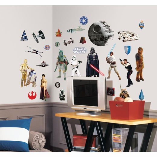 Star Wars Classic Peel And Stick Decal