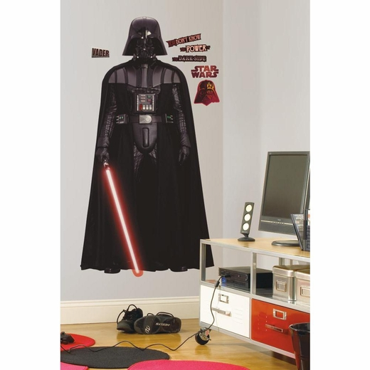 Star Wars Classic Vadar Peel And Stick Decal