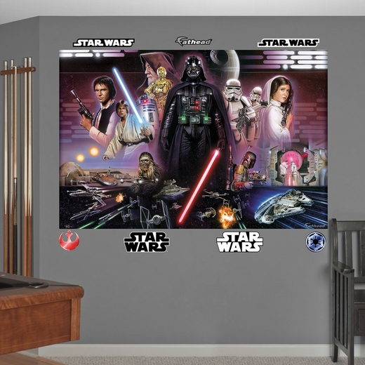 Star Wars Legacy Illustrated Mural Wall Decal