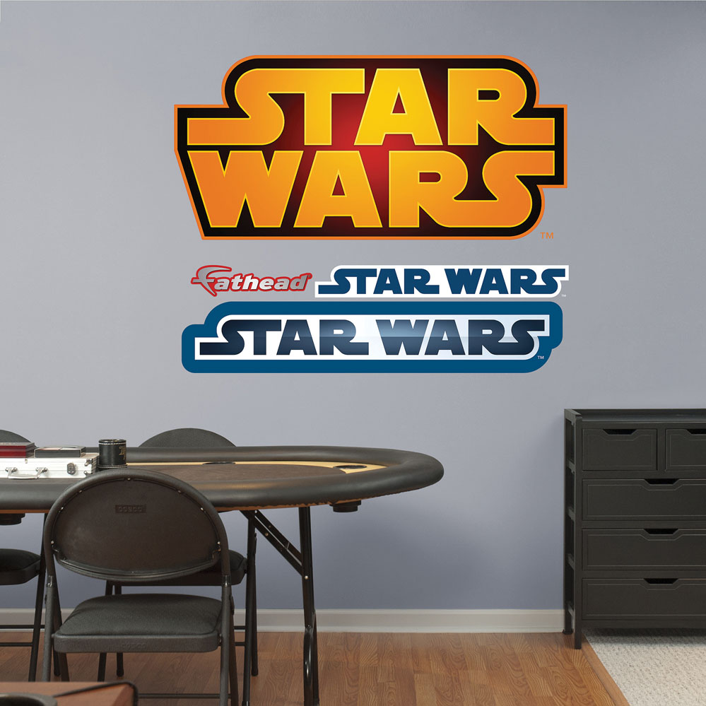 Star Wars Logo REALBIG Wall Decal