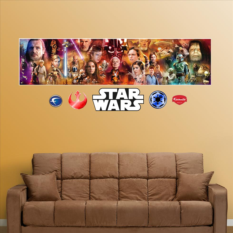 Star Wars Movie Mural-Fathead