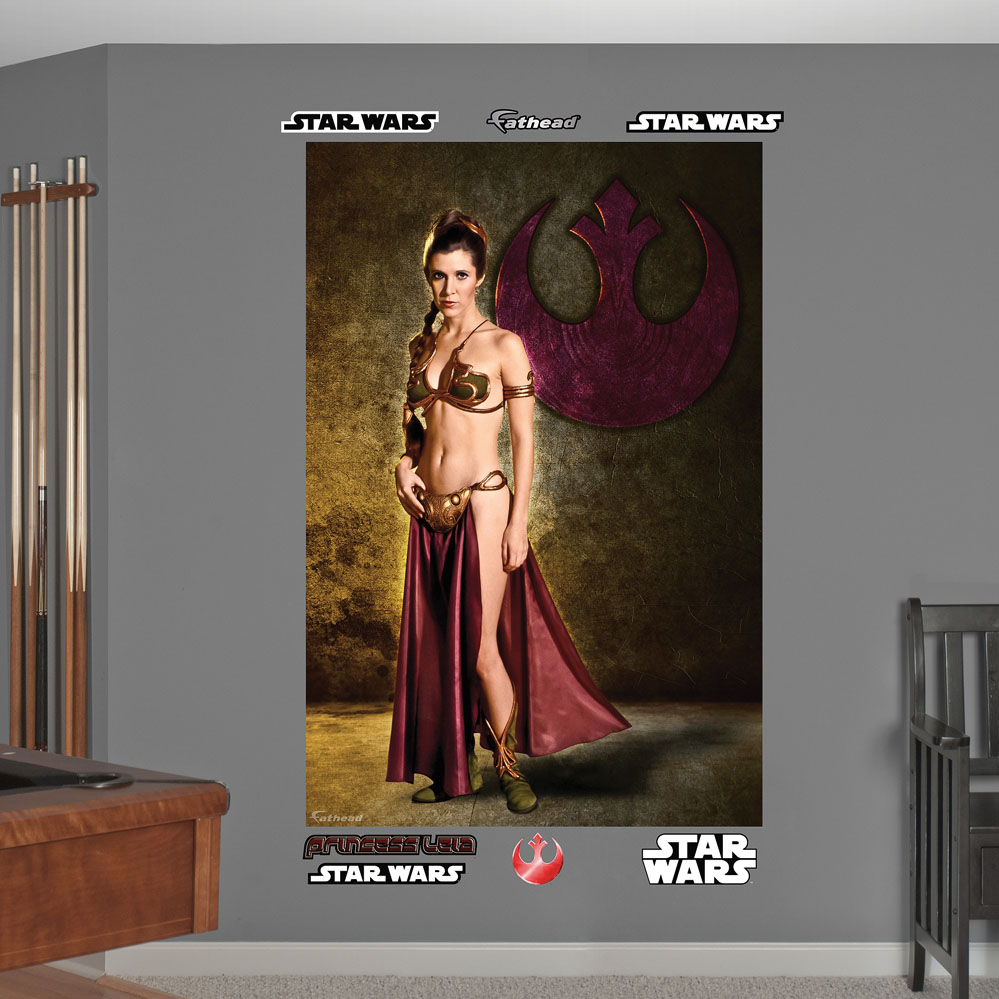 Star Wars Princess Leia Mural REALBIG Wall Decal