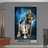 Star Wars R2-D2 C-3PO Mural REALBIG Wall Decal