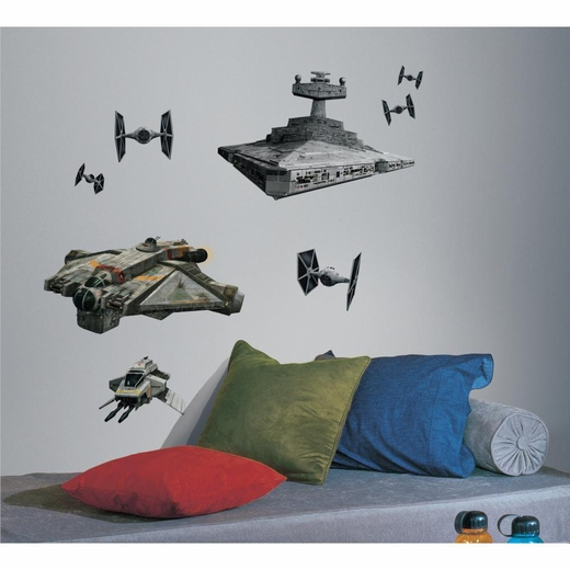 Star Wars Rebel And Imperial Ships Giant Decal