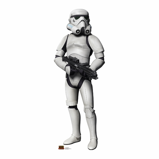 Star Wars Rebels-Stormtrooper Cardboard Cutout