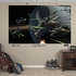 Star Wars Space Battle Mural REALBIG Wall Decal