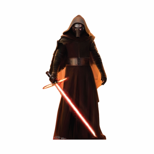 Star Wars The Force Awakens Kylo Ren Cutout