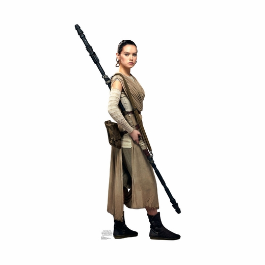 Star Wars The Force Awakens Rey Cardboard Cutout