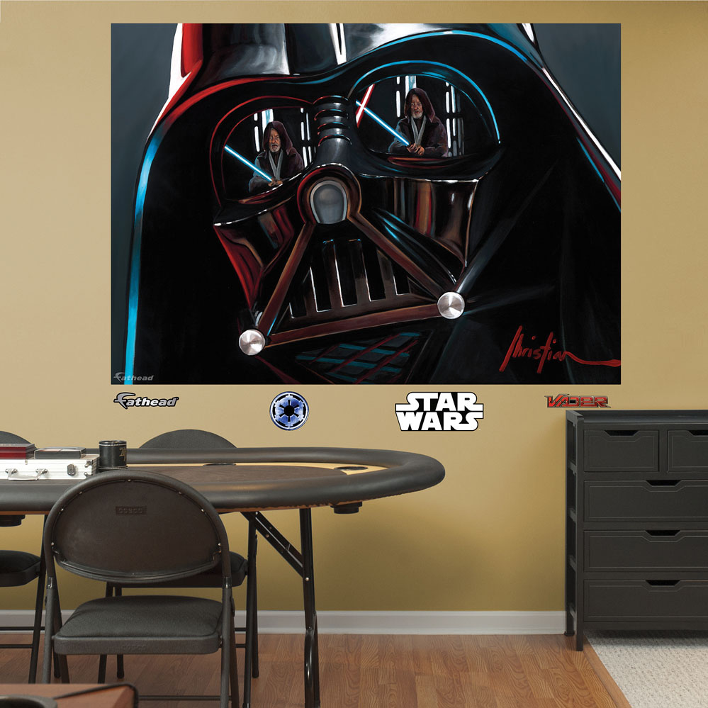 Star Wars Vader Illustration Mural Wall Decal